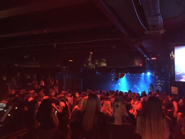 FAIRCHILD TOUR DIARY - London crowd